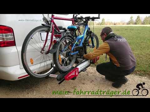 Unser Test vom Uebler i21 Fahrradträger (90° abklappbar)