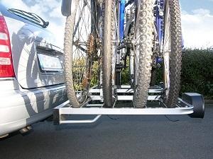 4 Fahrräder Test Eufab Bike Four