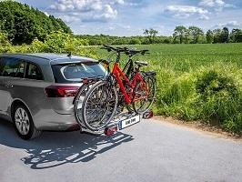 Test Eufab Bike Two beladen