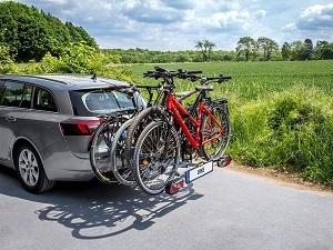 Test Luke mit Fahrräder