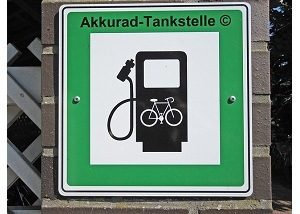 Unterschied E-Bike Pedelec Motor Akkurad Tankstelle