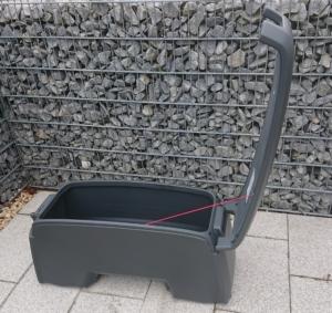 Westfalia Transportbox aufgeklappt